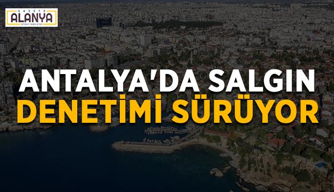 Antalya'da salgın denetimi aralıksız sürüyor