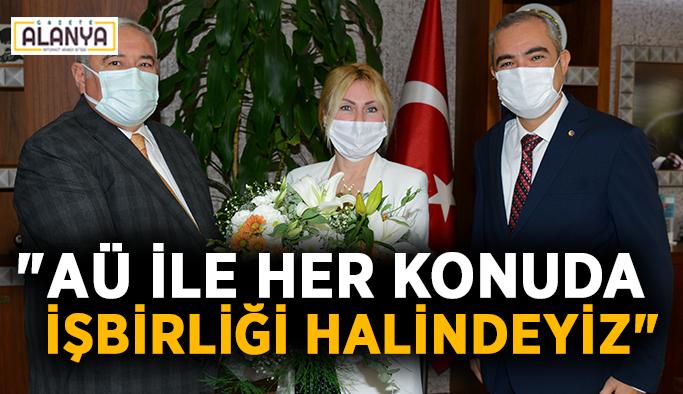 """ATSO Başkanı Çetin: """"AÜ ile her konuda işbirliği halindeyiz"""""""