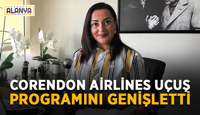 Corendon Airlines uçuş programını genişletti