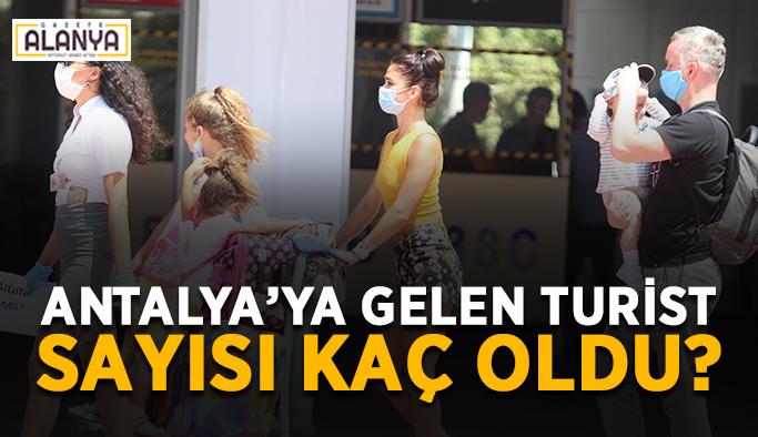 İlk sırada Ruslar var! Antalya'ya gelen turist sayısı kaç oldu?
