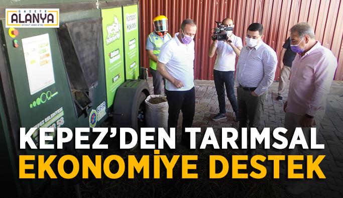 Kepez'den tarımsal ekonomiye destek