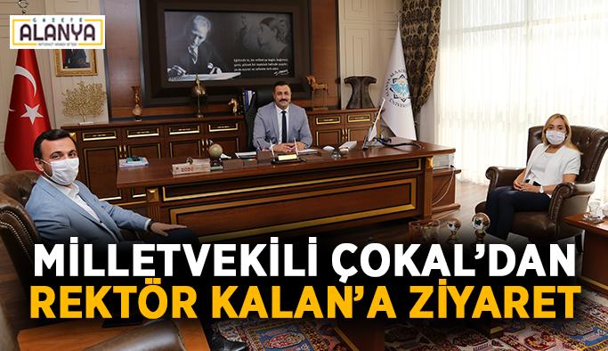 Milletvekili Çokal'dan Rektör Kalan'a ziyaret