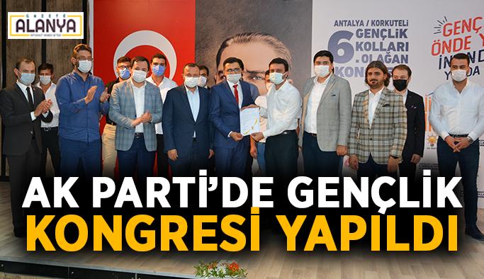 Ak Parti Korkuteli 6. Olağan Gençlik Kongresi yapıldı