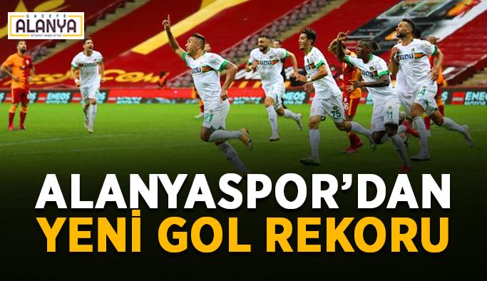 Alanyaspor ligin en çok gol atan takımı oldu