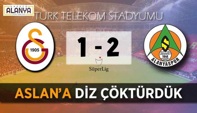 Galatasaray 1, Alanyaspor 2