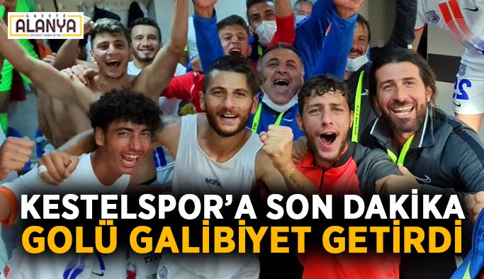 Kestelspor'a son dakika golü galibiyet getirdi