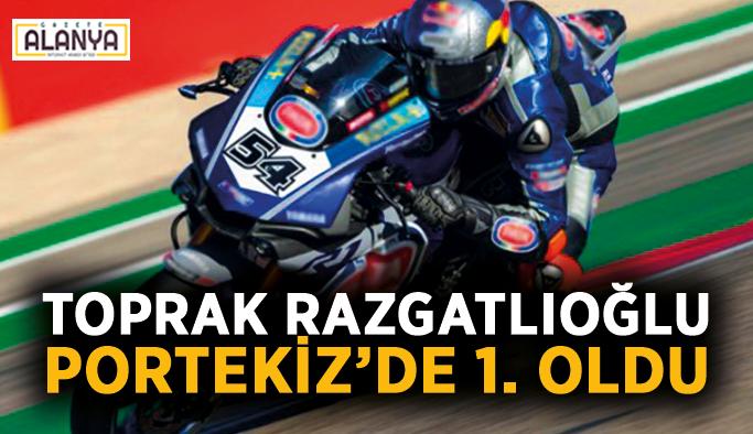 Toprak Razgatlıoğlu Portekiz'de 1. oldu