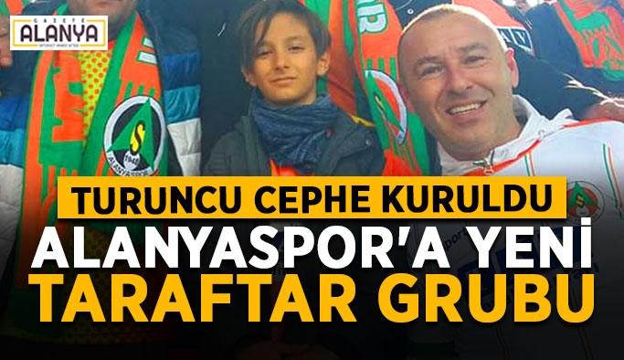 Alanyaspor'a yeni taraftar grubu: Turuncu Cephe