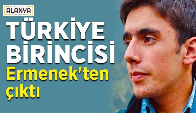 Türkiye birincisi Ermenek'ten çıktı