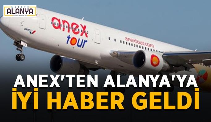 Anex'ten Alanya'ya iyi haber geldi