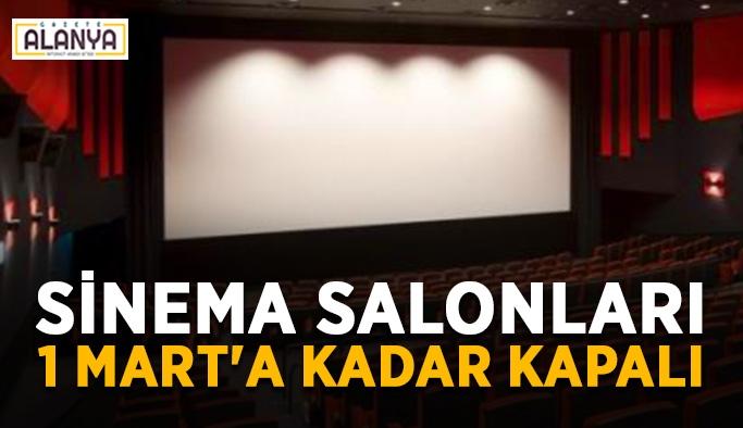 Bakanlık açıkladı! Sinema salonları 1 Mart'a kadar kapalı