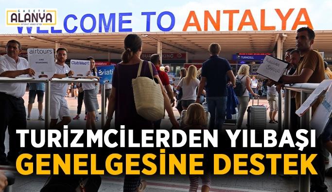 Turizmcilerden yılbaşı genelgesine destek