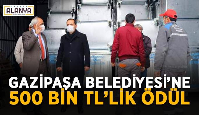 Gazipaşa Belediyesi 500 bin TL'lik hibe ile ödüllendirildi