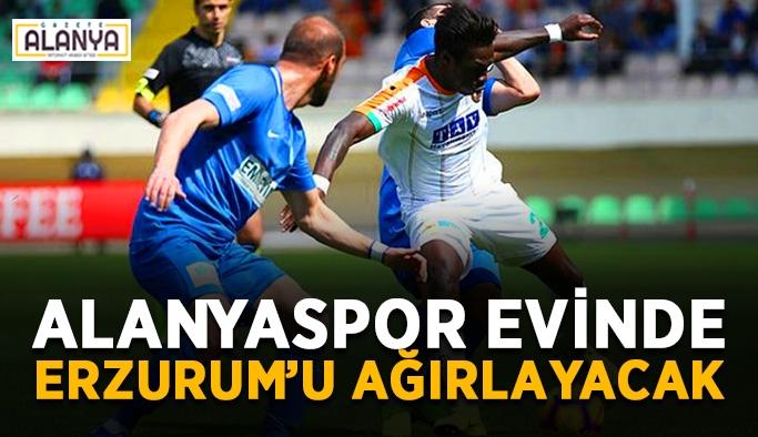Alanyaspor evinde Erzurum'u ağırlayacak