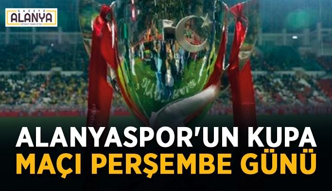 Alanyaspor'un kupa maçı Perşembe günü