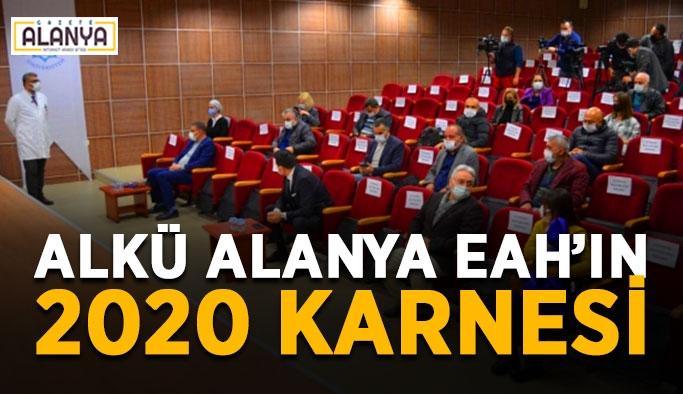ALKÜ Alanya EAH'ın 2020 karnesi
