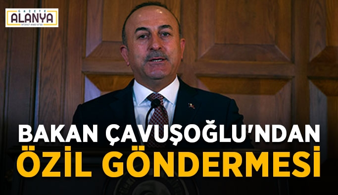 Bakan Çavuşoğlu'ndan Özil göndermesi