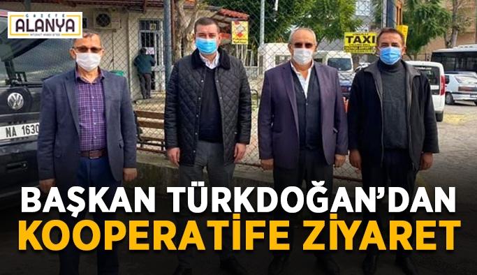 Başkan Türkdoğan'dan kooperatife ziyaret