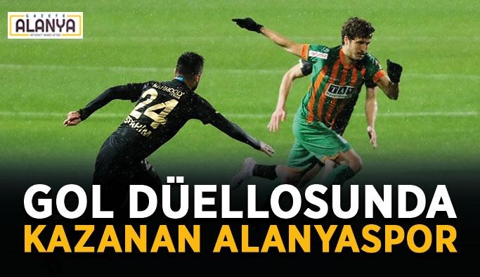 Gol düellosunda kazanan Alanyaspor