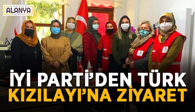 İYİ Parti'den Türk Kızılayı'na ziyaret