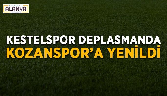 Kestelspor deplasmanda Kozanspor'a yenildi