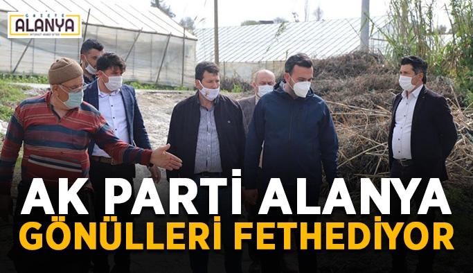 AK Parti Alanya gönülleri fethediyor