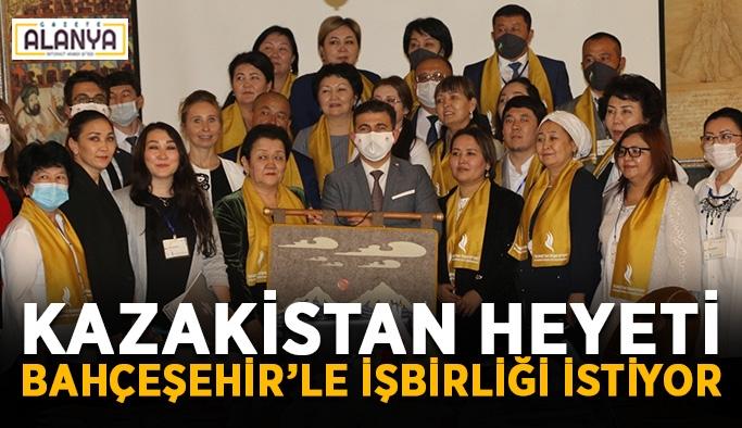 Kazakistan heyeti Bahçeşehir Koleji'yle işbirliği istiyor