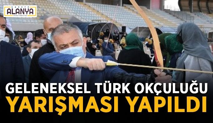 4. Geleneksel Türk Okçuluğu Yarışması yapıldı