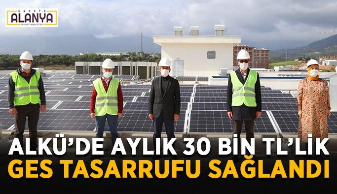 ALKÜ'de aylık 30 bin TL'lik GES tasarrufu sağlandı