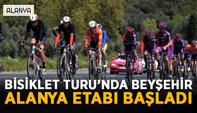 Bisiklet Turu'nda Beyşehir-Alanya etabı başladı