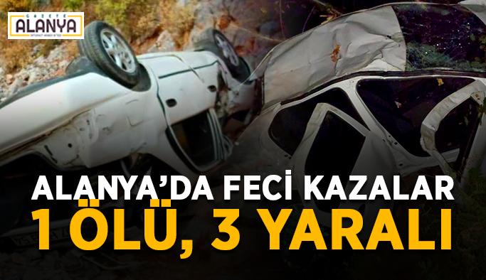 Feci kaza 1 kişi hayatını kaybetti
