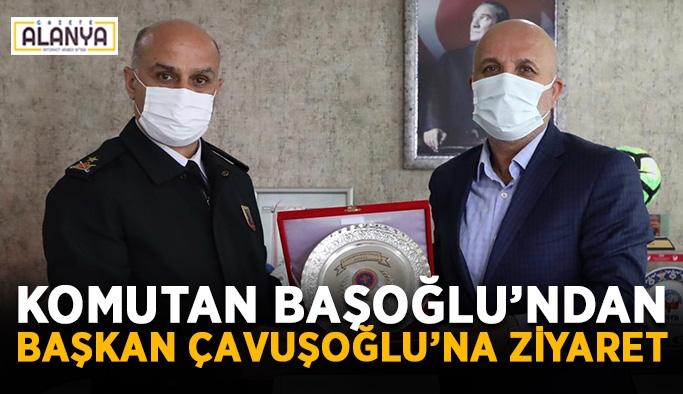 Komutan Başoğlu'ndan Başkan Çavuşoğlu'na ziyaret