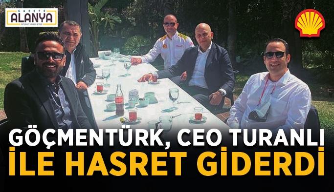 Muharrem Göçmentürk, CEO Emre Turanlı ile hasret giderdi