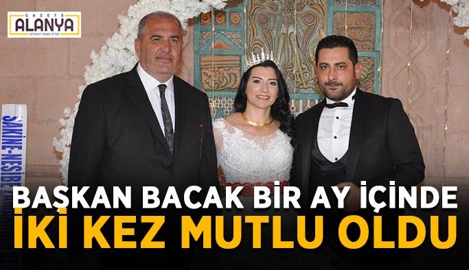 Reyhan ve Alparslan evlendi! Başkan Bacak bir ay içinde iki kez mutlu oldu