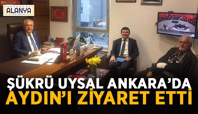 Şükrü Uysal Ankara'da Aydın'ı ziyaret etti