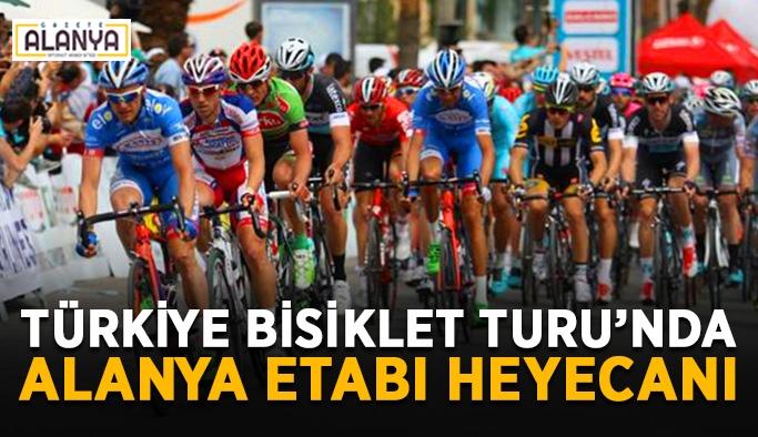 Türkiye Bisiklet Turu'nda Alanya etabı heyecanı