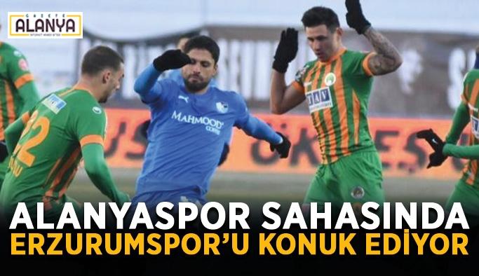 Alanyaspor sahasında Erzurumspor'u konuk ediyor