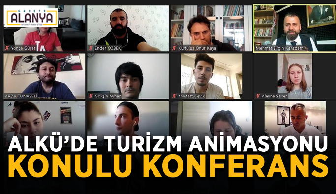 ALKÜ'de turizm animasyonu konulu konferans