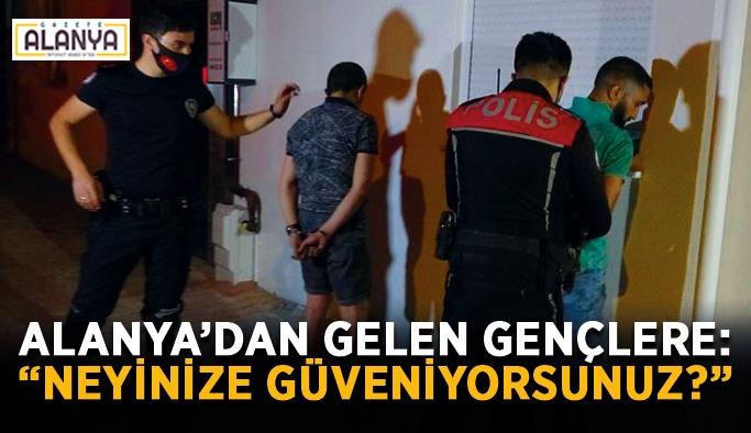 Polisten kaçan gençler kıskıvrak yakalandı