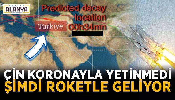 Roketin düşeceği hat Akdeniz kıyılarına yakın mı?