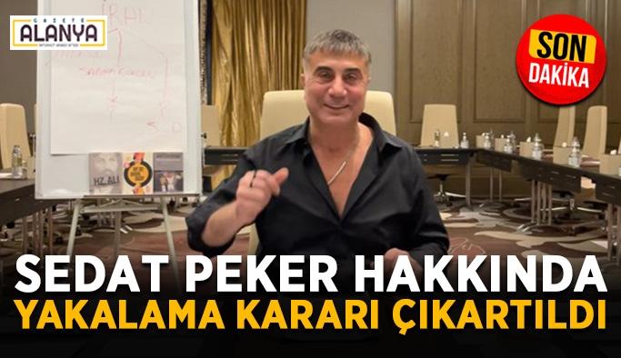 Sedat Peker hakkında yakalama kararı çıkartıldı