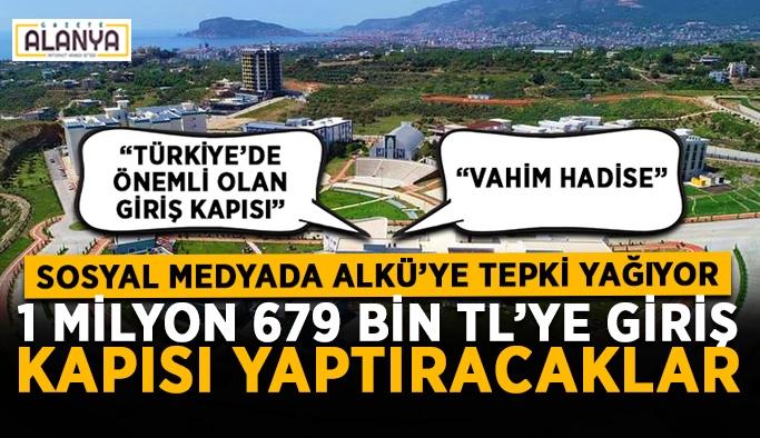 Alanya Alaaddin Keykubat Üniversitesi'ne sosyal medyadan tepki