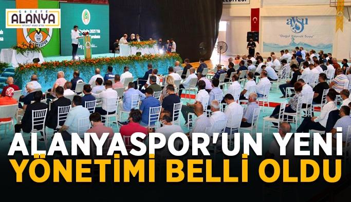 Alanyaspor'un yeni yönetimi belli oldu