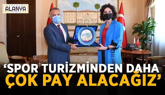 """Antalya Valisi Yazıcı: """"Spor turizminden daha çok pay alacağız"""""""