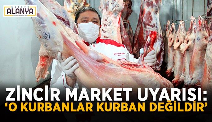 """AVM ve zincir market uyarısı: """"O kurbanlar kurban değildir"""""""