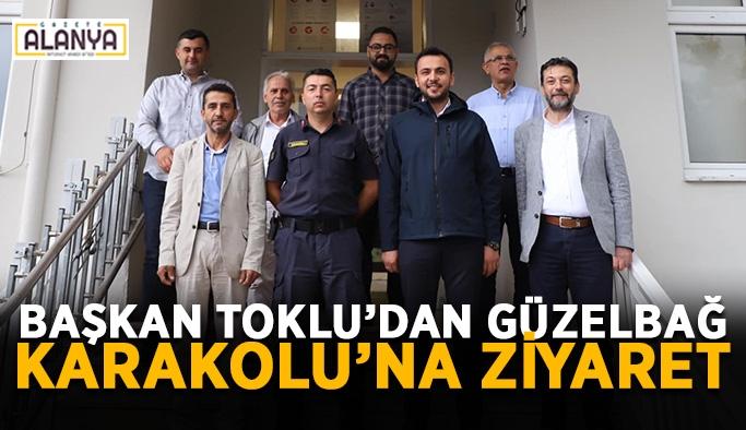Başkan Mustafa Toklu'dan Güzelbağ Karakolu'na ziyaret
