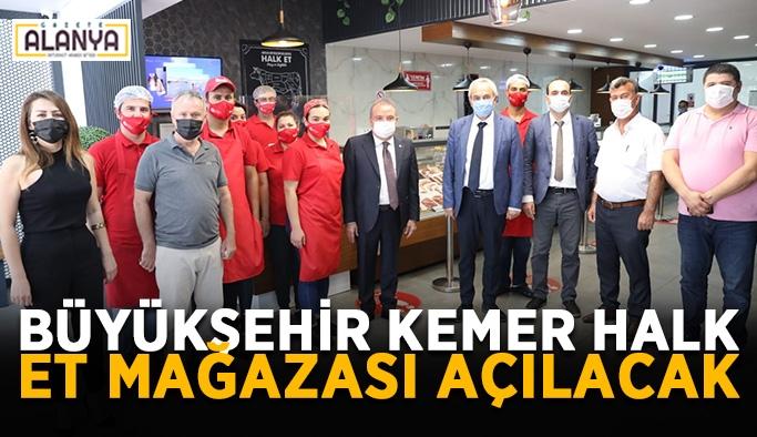 Büyükşehir Kemer'e Halk Et mağazası açacak