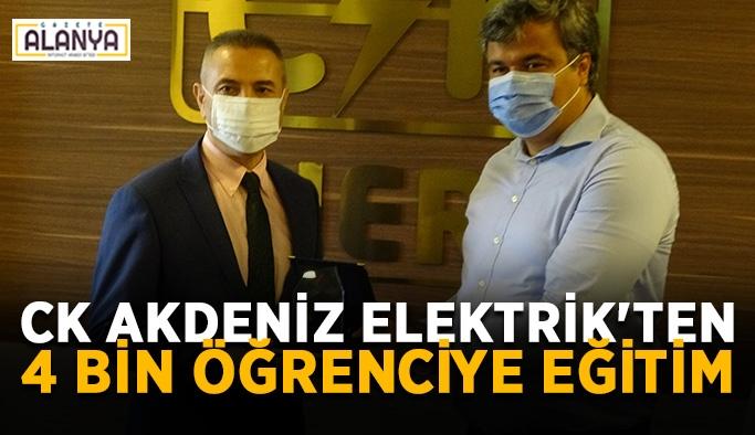 CK Akdeniz Elektrik'ten 4 bin öğrenciye eğitim