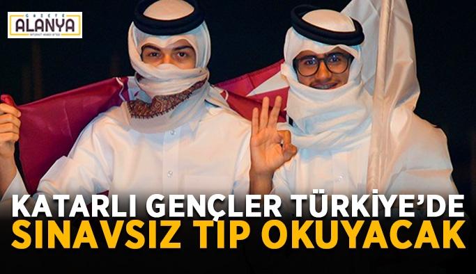 Katarlı gençler Türkiye'de sınavsız tıp okuyacak