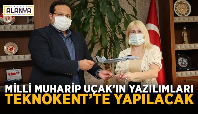 Milli Muharip Uçak'ın yazılımları Antalya Teknokent'te yapılacak